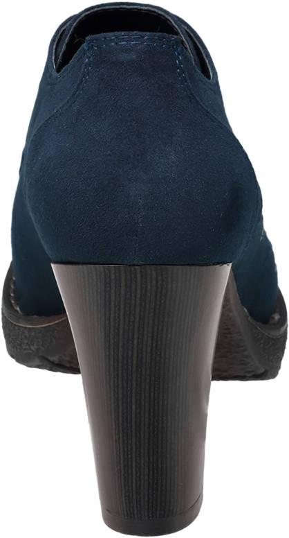 Graceland Hochfront Pumps blau
