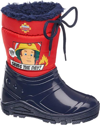 Feuerwehrmann SAM Boots gefüttert