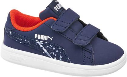 Puma Leder Klettschuhe SMASH