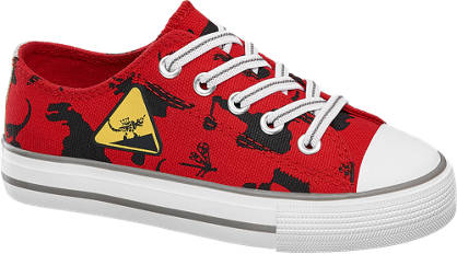 Dinotrux Leinen Slip On Sneakers