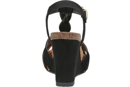 Graceland Keil Sandale schwarz