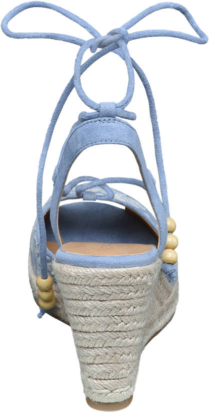Ellie Star Collection Keil Sandalette  blau