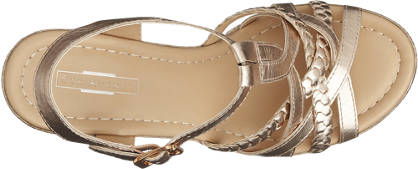 5th Avenue Keil Sandalette gold
