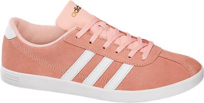 Adidas Korall színű VL COURT W sneaker