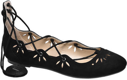 Graceland Lace Up Ballerina