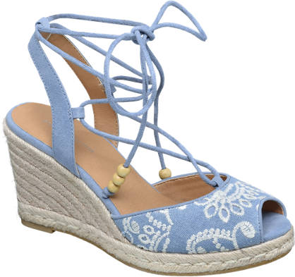 Ellie Star Collection Lace Up Sandalet