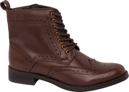 Brogue Lace Up Boot
