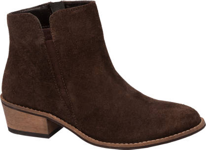 Elastic Gusset Ankle Boots
