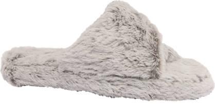 Ladies Open Toe Mule Slippers