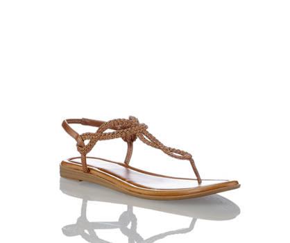 Limelight Limelight sandalette plate femmes