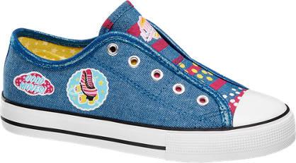 Luna Leinen Slip On Sneakers