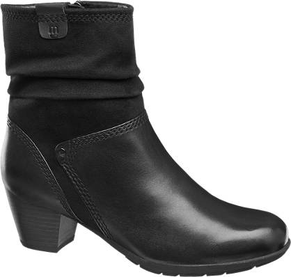 Medicus Heeled Leather Boot