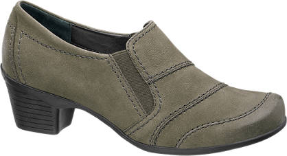 Medicus Leather Stitch Detail Shoe