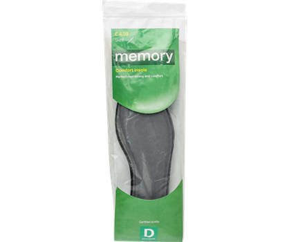 Memory Comfort Insole (Size 4-5)