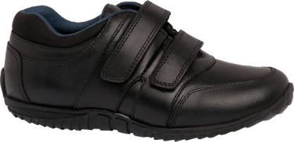 Memphis One Junior Boy Twin Strap Leather Shoe