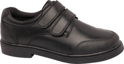 Memphis One Junior Boy Leather Twin Strap Shoes