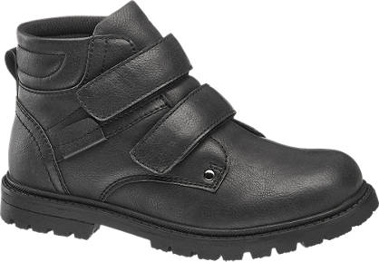 Memphis One Junior Boy Twin Strap Ankle Boots