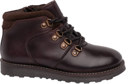 Memphis One Junior Boy 'D Ring' Lace-up Ankle Boots