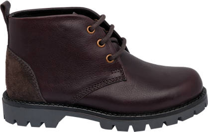 Memphis One Leather Chunky Boot