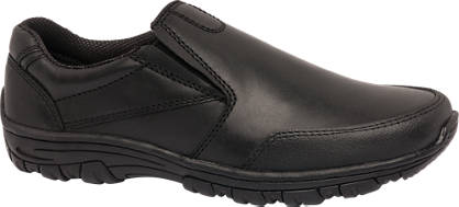 Memphis One Teen Boy Leather Slip On Shoes