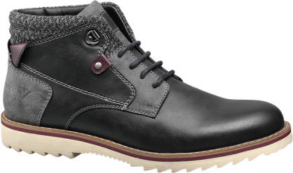Venice Casual Lace-up Boots