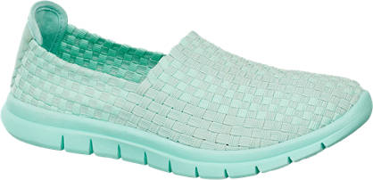 Venice Menta színű slipper