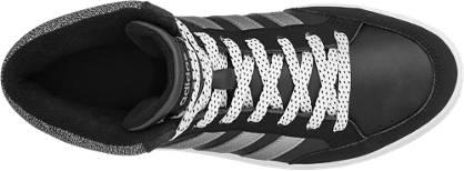 adidas neo label Mid Cut HOOPS MID K schwarz, weiß