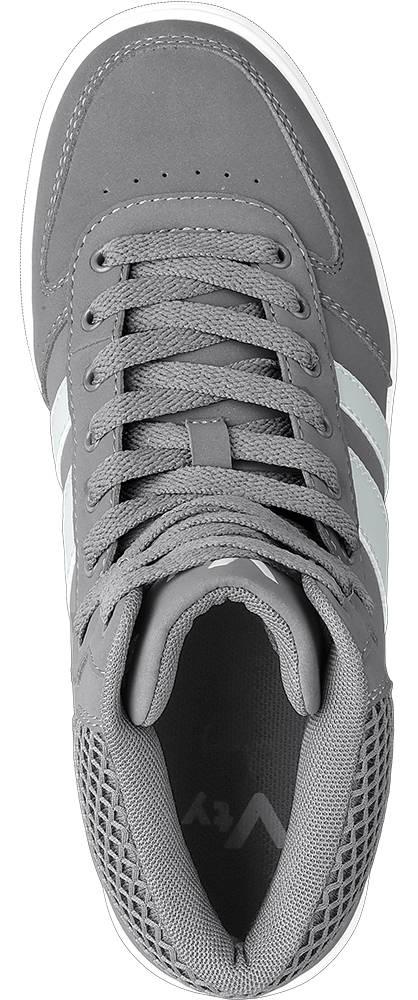 Vty Mid Cut grau, weiß