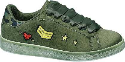Graceland Military mintás sneaker