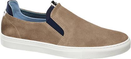 AM SHOE Leder Slip-On Sneakers