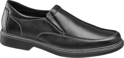 Gallus Leder Slipper, Weite: J (extraweit)