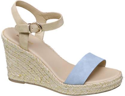 Graceland sandały na koturnie