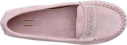 5th Avenue Mokassin rosa