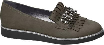 Graceland Női loafer strasszokkal
