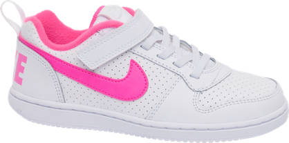 NIKE Nike Court Borough Low Junior Girls Trainers