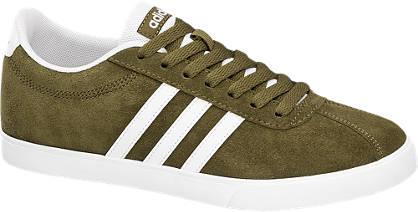 Adidas Oliva színű COURTSET W sneaker