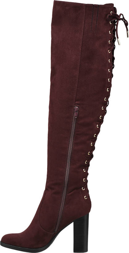 Catwalk Overknee bordeaux
