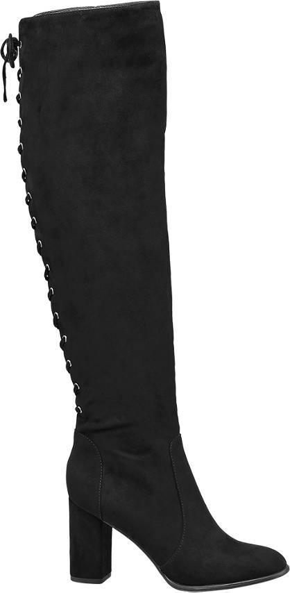 Graceland Overknee schwarz