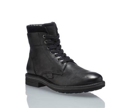 Oxmox Oxmox Freccia boot da allacciare uomo nero