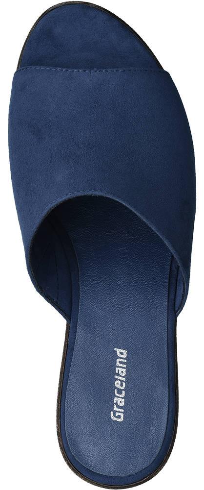 Graceland Pantolette  blau