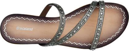 Graceland Pantolette  grau