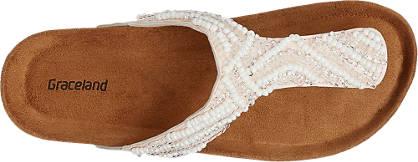 Graceland Pantolette beige