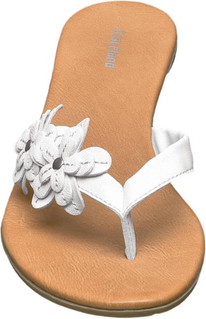 Graceland Pantolette weiß