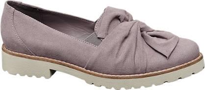 Graceland Púderszínű női loafer