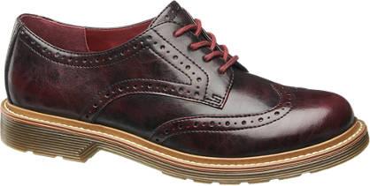Graceland Perforált dandy cipő