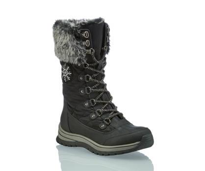 Pesaro Pesaro calzature per la neve donna nero