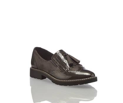 Pesaro Pesaro slipper donna grigio scuro