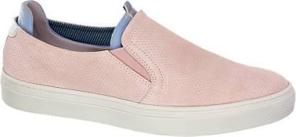 5th Avenue Pink bőr slip on
