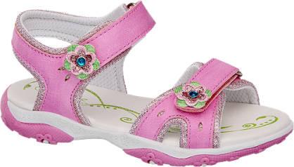 Cupcake Couture Pink tépőzáras szandál
