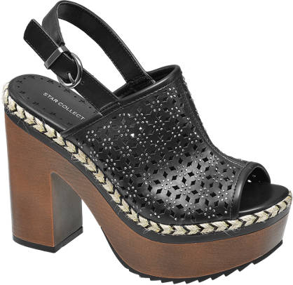 Ellie Star Collection Plateau Pantolet